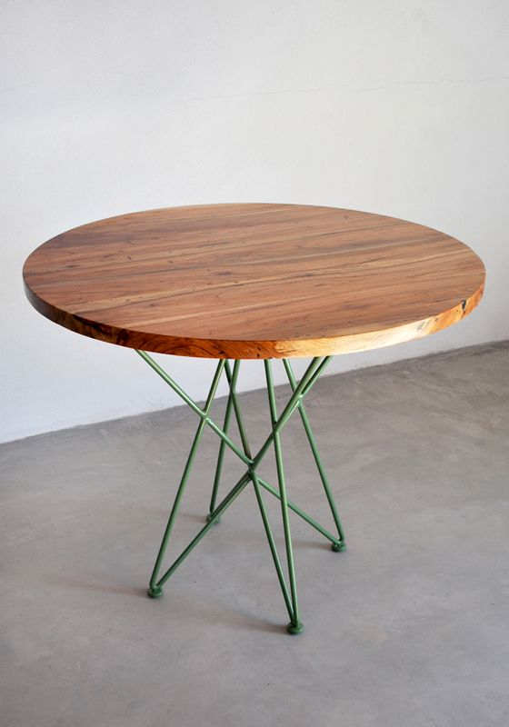 Round Cafe Tables And Chairs : Garza Furniture - Marfa, TX - 36