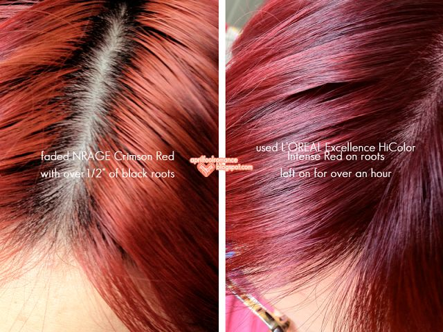 OREAL Excellence HiColor Intense Red | Hair | Pinterest