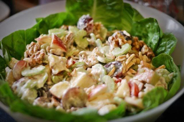 Waldorf salad 2 | SALADS | Pinterest