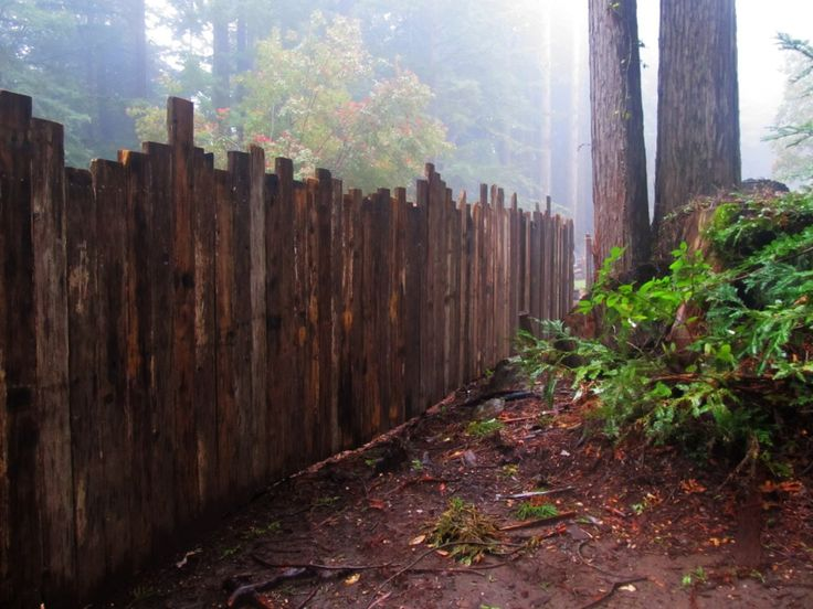 Recycled timber fence ideas tierra este