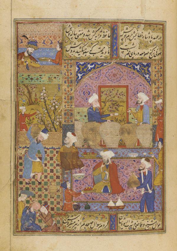 Divan hafez persian calligraphy pinterest for Divan of hafez