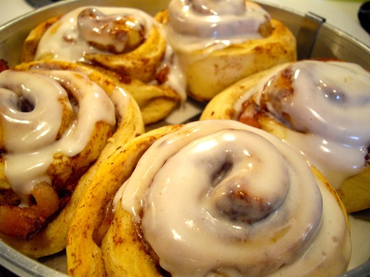 Bacon Cinnamon Rolls from CakeSpy | Food Blogs | Pinterest