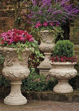 Bring the spirit of the Mediterranean to your outdoor space with the intricately designed and masterfully constructed Provence Urn; a beautiful place to house all your favorite florals.