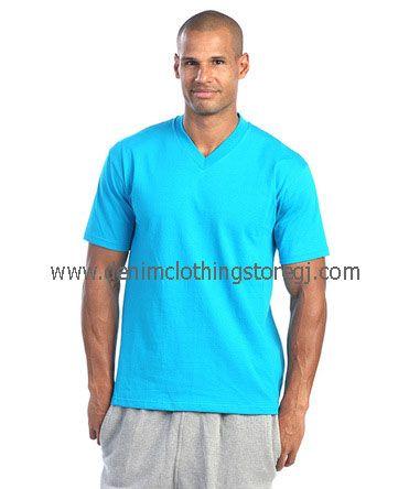 Pro Club Comfort Short Sleeve Plain V-Neck Tee Shirts. Size: S-7XL