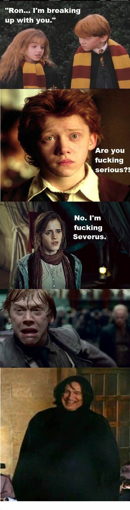 SEE SNAPE LAUGH!!! XD