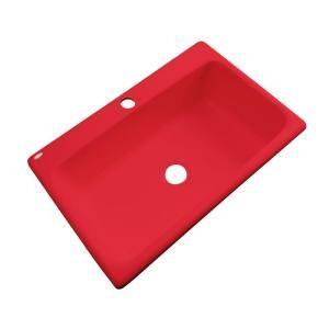 Red Kitchen Sink : red kitchen sink Kitchen ala Hubble Pinterest