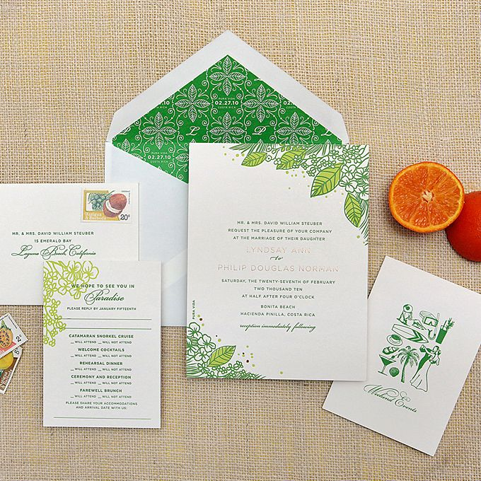 Destination Wedding Stationery And Invitation Designs