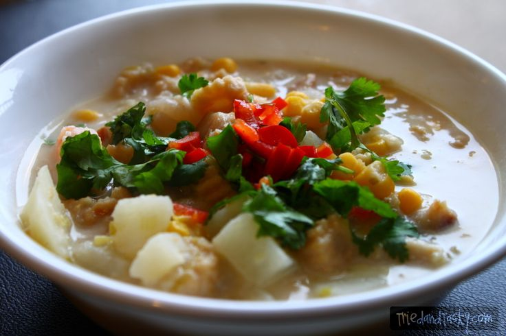 Chowder with Asian Flavors | Delish | Pinterest