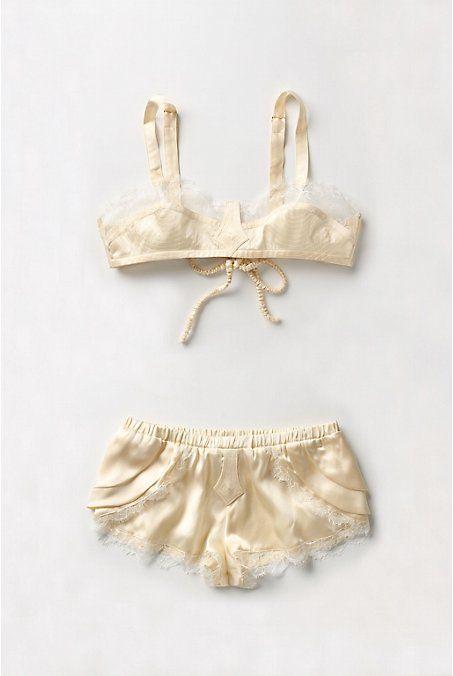 Anthropologie lingerie