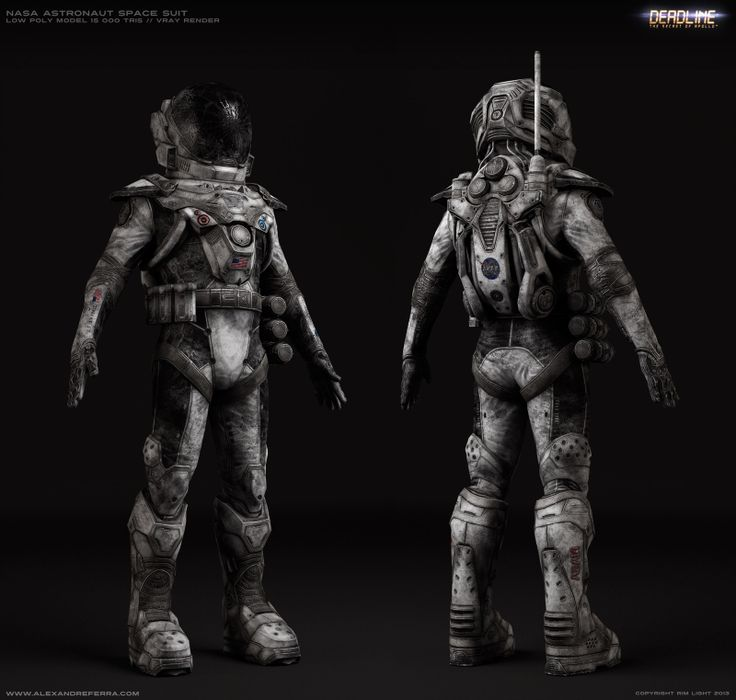 Hard Shell Space Suit Sci-Fi - Pics about space