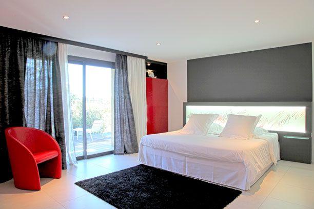 Déco chambre rouge et blanc  DESIGN  dans la chambre  Pinterest