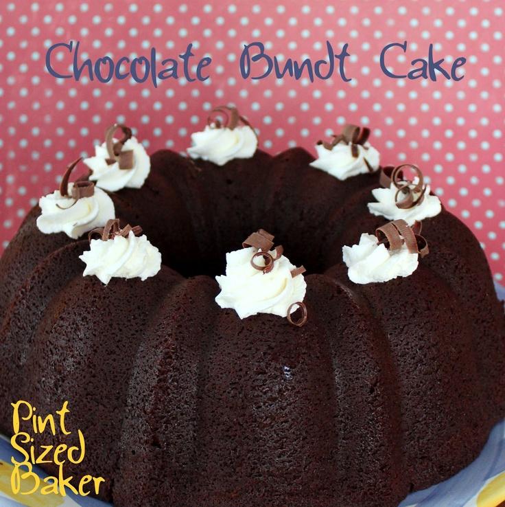 Chocolate Sour Cream Bundt Cake