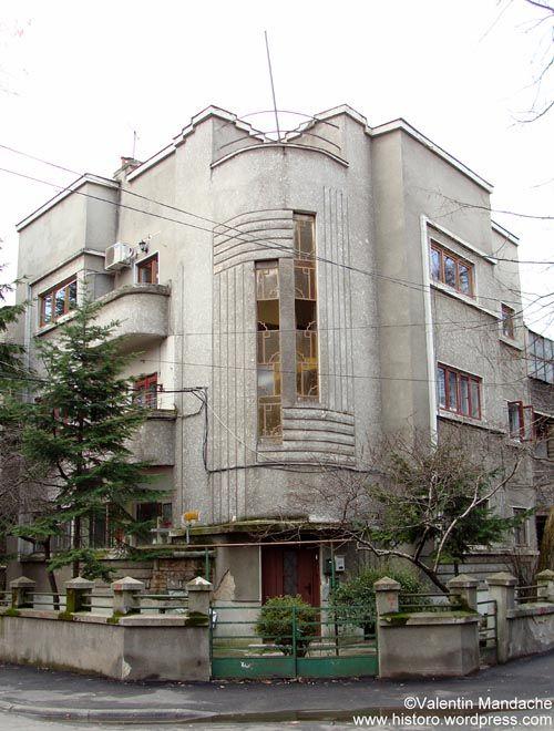 Art Deco style residency,Bucharest
