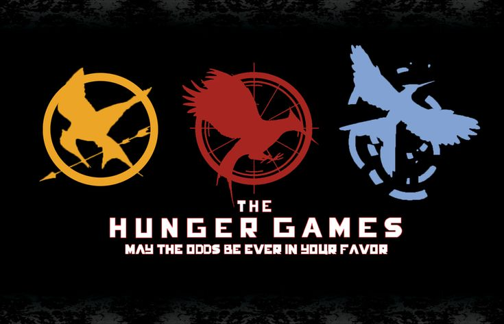 This is a pic of the 3 Hunger Games book signs.