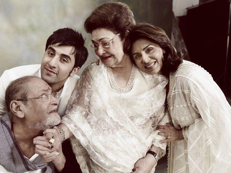 Shammi kapoor family