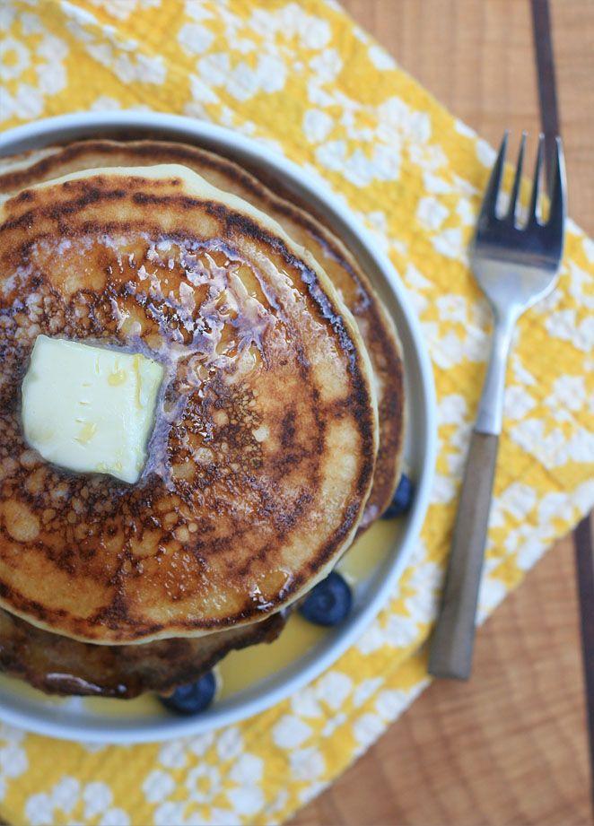 Gluten-Free Buttermilk Pancakes | Girl Cooks World