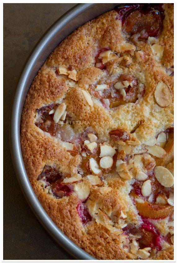 Plum Almond Cake Recipe — Dishmaps