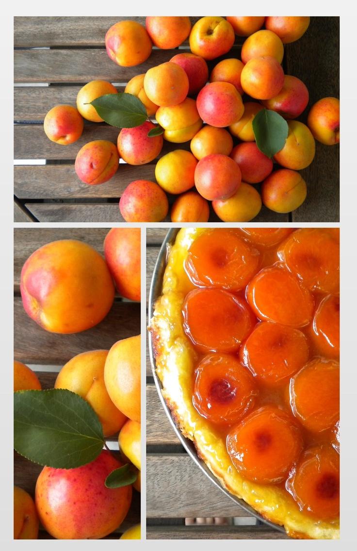 apricot tatin tart | Pastry and Dessert Pics I Love | Pinterest