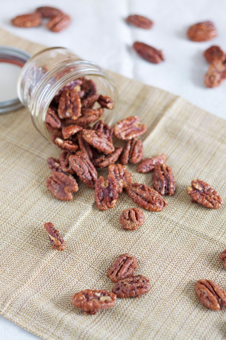 Maple Bourbon Roasted Pecans | Recipe