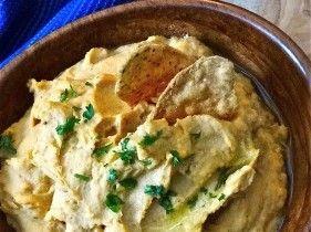 January 2013 Newsletter: Roasted Sweet Potato & White Bean Dip