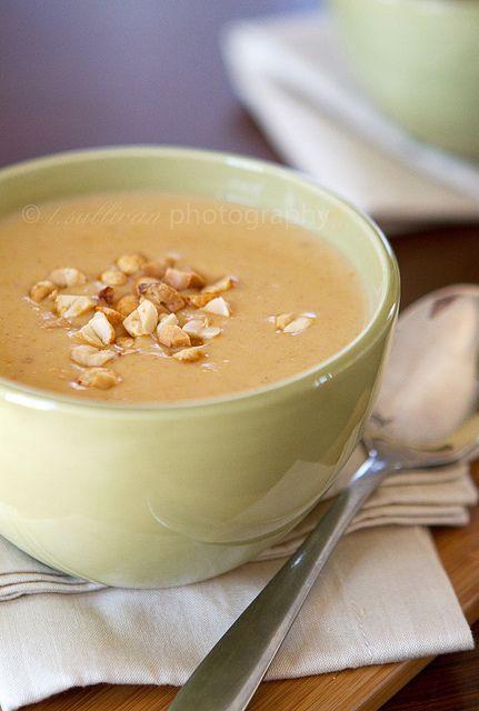 Peanut and Butternut Squash Soup | Favorite Recipes | Pinterest