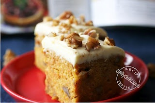 carrot cake with lime mascarpone Icing   Indulge   Pinterest
