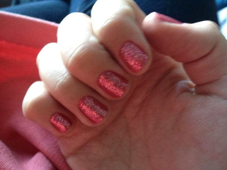 mu pink nails