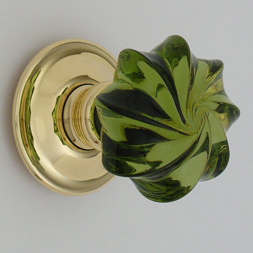 Classical solid glass whirl door knobs color pinterest