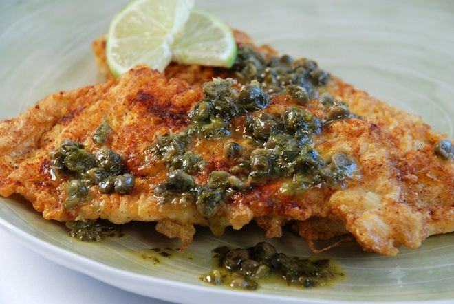 herb butter sautéed petrale sole in herb butter sauce recipes
