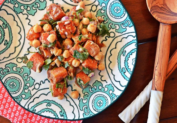 Warm Butternut Squash and Chickpea Salad | www.floatingkitchen.net