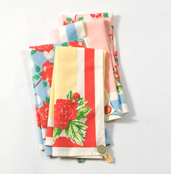 Retro Kitchen Linens: Vintage Inspired Kitchen Towels