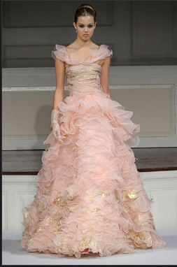 pink amp gold wedding dress weddingim getting married