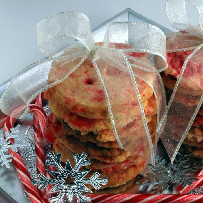 Peppermint Stick Shortbread | cookies | Pinterest