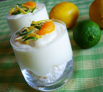 Lime & Lemon mousse | Baking | Pinterest