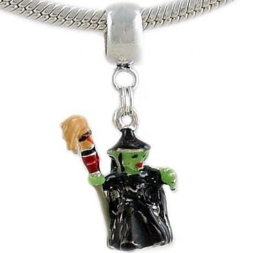 Wizard of oz wicked witch charm bead 187 charming beads