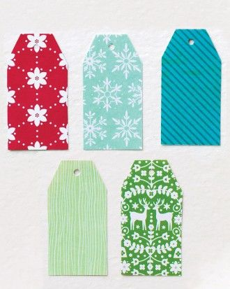 Martha Stewart Wedding Gift Tags : Gift tags via martha stewart Christmas Pinterest