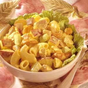 ... curried chicken pasta salad recipes dishmaps chicken curry pasta salad