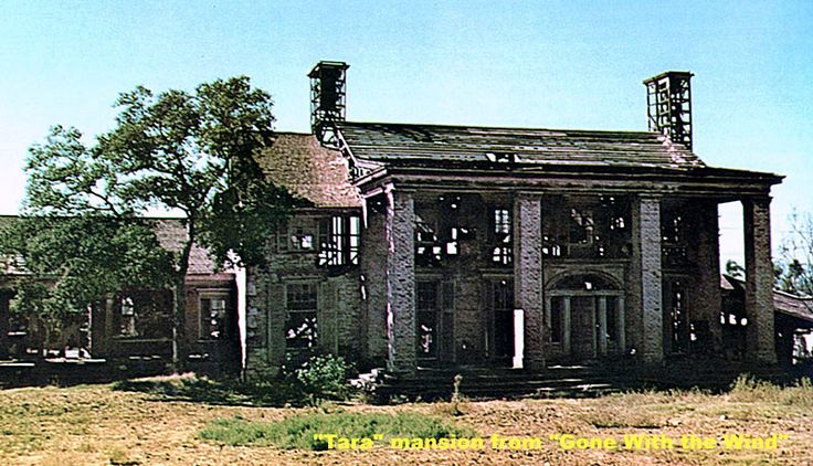 Tara Mansion from Gone with the Wind, 1959