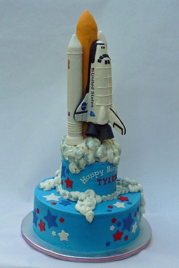 Space Rocket Cake Pan