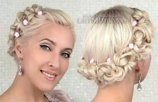 Lilith Moon Hair Updos
