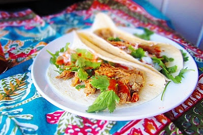 Chile Braised Pork Shoulder Tacos | Viva los Tacos! | Pinterest