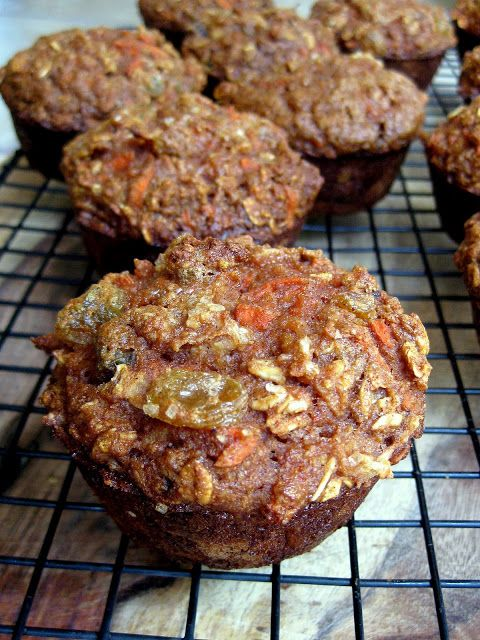 Morning Glory Oat Muffins | breads & muffins | Pinterest