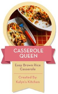 ... Easy Brown Rice Casserole with Turkey Italian Sausage and Green Bell