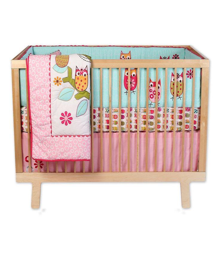 Guinevere s crib bedding crib owls sweet baby girl pinterest