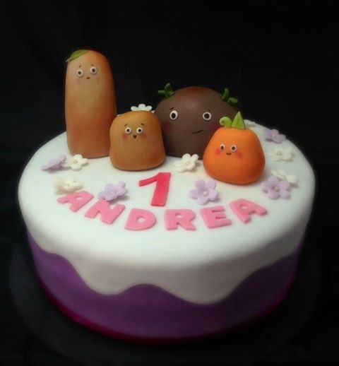 Birthday Cake Images Small : small potatoes birthday cake Food with Faces Pinterest
