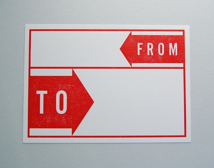 Making it super clear for mailing! #retro #mailing #envelope #stationary