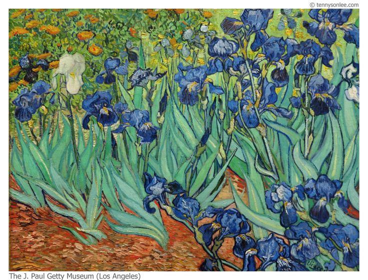 Irises  1889  by Vincent van Gogh Van Gogh Irises Getty