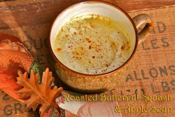 roasted butternut squash amp apple soup divine health