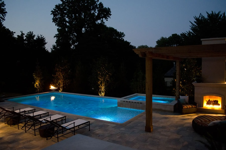 Pin by sarah granger on dreamy pools pinterest for Pool design kansas city