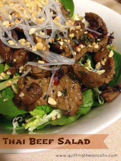 Thai Beef Salad Recipe | Real food | Pinterest